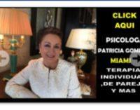 Hoy dia del psicólogo, felicitaciones a la excelente doctora Patricia Gomez portadora de muchos éxitos en Miami