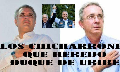 Los chicharrones que heredo Duque de Uribe chiva Notiloco y doña Lina, doña Juliana, y misia Tutina  enfrentadas