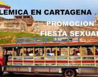 En video Nueva polémica en Cartagena por promoción de fiesta sexual