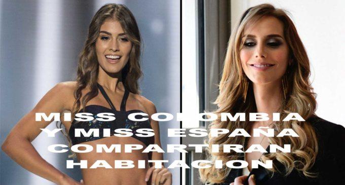 Miss Colombia y Miss España compartirán habitación en Miss Universo