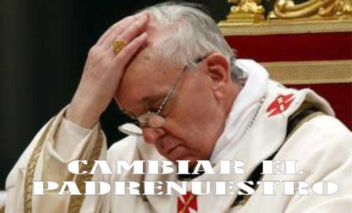 Papa Francisco recomienda cambiar frase del Padre nuestro