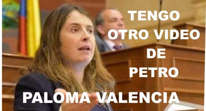 Paloma Valencia anuncia nuevo video de Petro tumbándole el helado a un niño