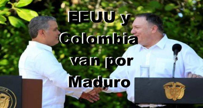 EEUU y Colombia se unen para aislar a Maduro y 'restaurar la democracia' en Venezuela