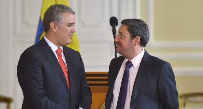Embajador de Colombia en Washington dice que Estados Unidos va por Maduro