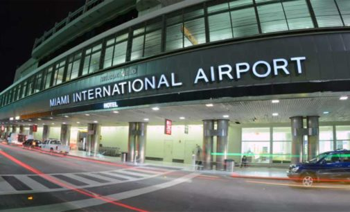 Cierre parcial de Aeropuerto Internacional de Miami por falta de seguridad