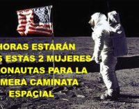 La NASA anuncia la fecha para la primera caminata espacial de dos mujeres astronautas