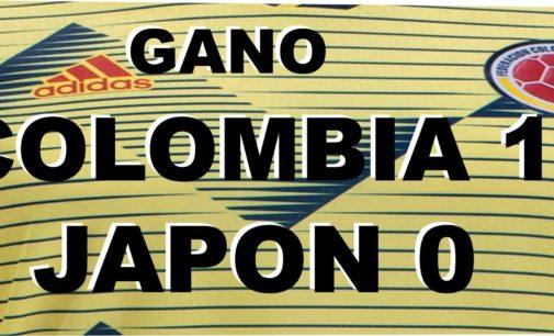 Colombia gano 1 por 0 a Japon, iniciando la era Queiroz