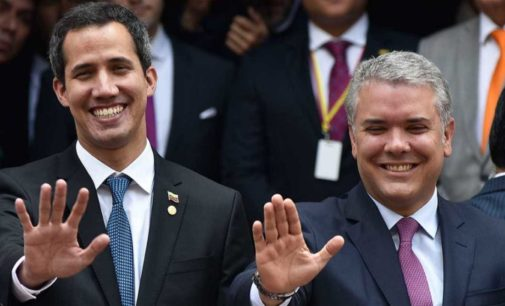 Juan Guaidó está en Colombia y se alista para viajar a Venezuela