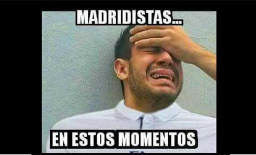 Memes eliminado el Real Madrid