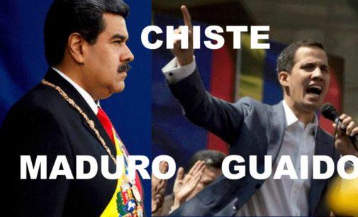 El mejor chiste del Notiloco de Maduro y Guaido
