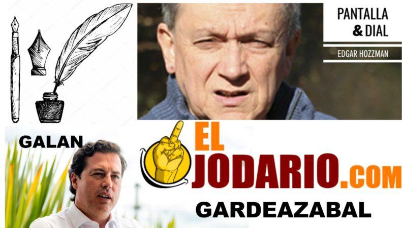 . PANTALLA Y DIAL: Edgar Hozzman  –  LAS 3 DEL TINTERO: Gustavo Alvarez Gardeazabal  –  COLUMNA SEMANAL:  Juan Manuel Galan