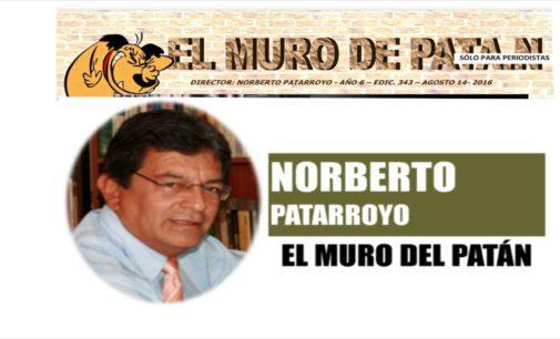 EL MURO DEL PATAN: Uribe demanda Coronell en la EE.UU. La SIP,  Bolsonaro armaría periodistas, El chimpancé,  Paramilitares,  Gabriel Reyes