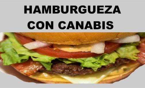 Ahora la hamburguesa con salsa de Cannabis
