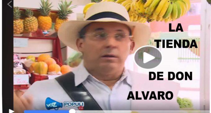 La tienda de don Alvaro, video para reirse un buen rato.