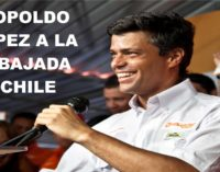 Leopoldo Lopez se refugia en la embajada chilena en Venezuela con su familia