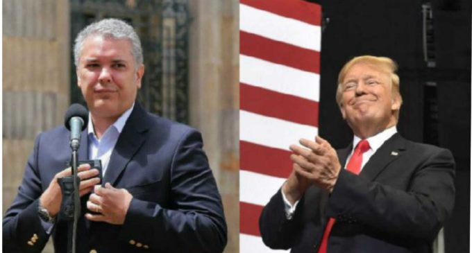 """Se le desarreglo el temperamento a Duque con Trump: """"Aquí hay que rendirle cuentas es al pueblo colombiano"""""""