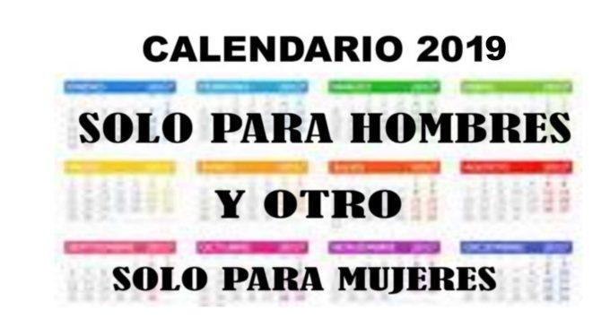 Regalo del Notiloco calendario para mujeres y otro solo para hombres