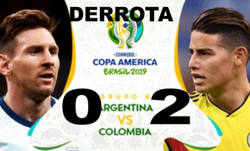 Colombia anulo a Messi y supero Argentina 2 goles a 0