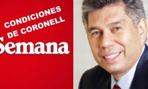 En que condiciones vuelve Daniel Coronell a la revista 'Semana'