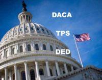 Congreso aprobó ley que daría ciudadanía a 2.1 millones de amparados a Daca, TPS y DED
