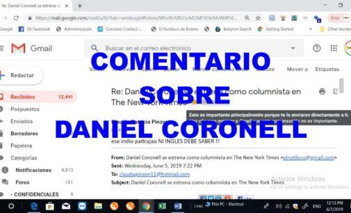Llega intolerante comentario de Claudia Pinzon sobre  Daniel Coronell al Notiloco de Botero