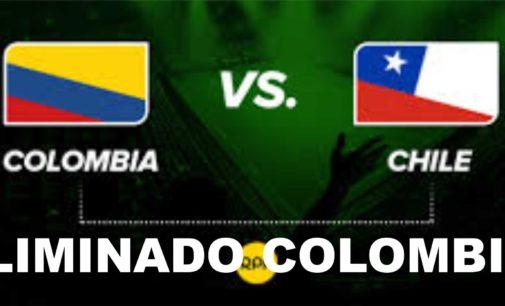 Chile elimino a Colombia
