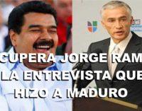 La entrevista completa aqui de Nicolas Maduro y Jorge Ramos de Univision