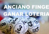 Anciano finge ganar la loteria antes del dia del padre. Click aqui