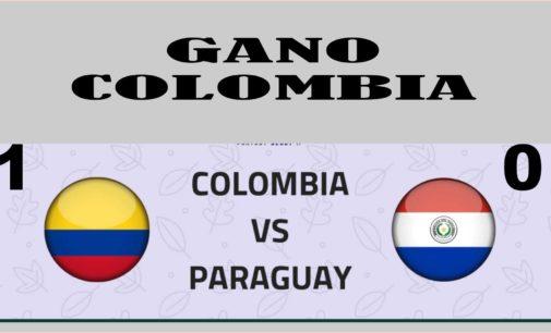 Colombia le gano a Paraguay  1  –  0 y logró puntaje perfecto en la Copa America