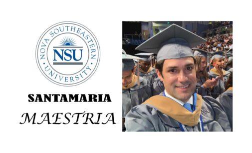 Alfred  Santamaría, Maestría Administración Empresas, Nova South Easter University EE. UU. en la lista colombianos destacados en el exterior