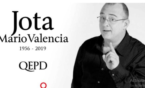 Murio Jota  Mario Valencia