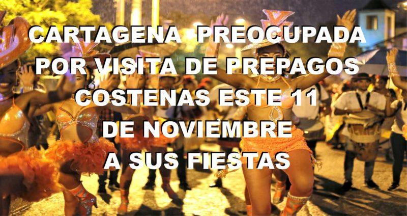 Cartagena preocupada por viaje de estas prepagos costeñas el 11 de noviembre