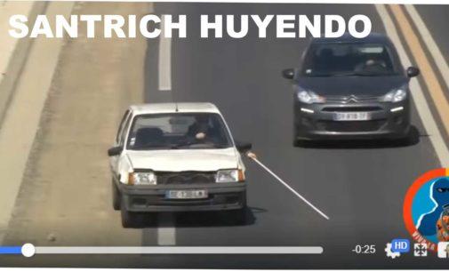 Tenemos el video de Santrich  huyendo en Venezuela