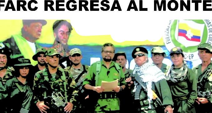 FARC regresan al monte en video de Santrich, Marquez el Paisa y 20  mas