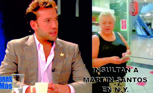 En este video, mujer paisa insulta al hijo de Juan Manuel Santos, en N.Y. no  falto  sino pegarle a Martin Santos