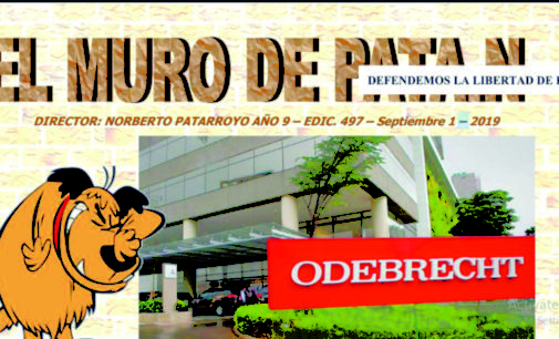 EL MURO DEL PATAN: Odebrecht sobornó a periodistas,  Facebook,  «¿La paz o la guerra de Uribe?»  y Uribe le dijo petrista ,  James y el siquiatra , Noticias desde ASOEXCARGOT