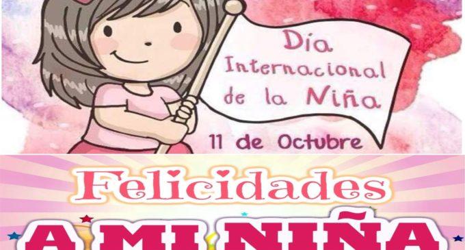 Hoy es el dia internacional de la niña en todo el mundo