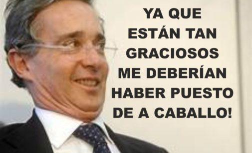 Uribe compartió un meme que le hicieron, lo tomó con humor y decidió reírse de sí mismo y trino ya que están tan graciosos,