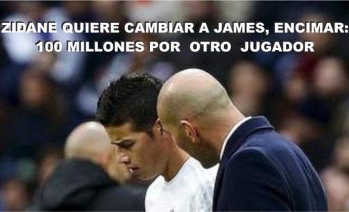 Real Madrid quiere cambalachear a James, encimar 100 millones: Por un jugador que quiere Zidane