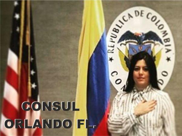 La cónsul de Orlando se reunió en Tampa con un nutrido grupo de colombianos para preguntarles que podía hacer por ellos