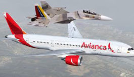 Aviones militares venezolanos interceptan vuelo de Avianca