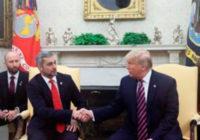 Mario Benitez se una a la lucha de Trump contra la corrupción