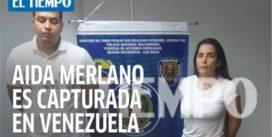 Aída Merlano la capturó la policía más criminal de Maduro