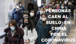 Gente cayéndose en las calles de China, ¿por culpa del coronavirus?