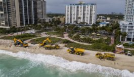 La arena de Miami Beach se la está comiendo el mar