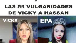 Las 59 vulgaridades que Vicky Dávila de dijo a Hassan en su programa de Semana