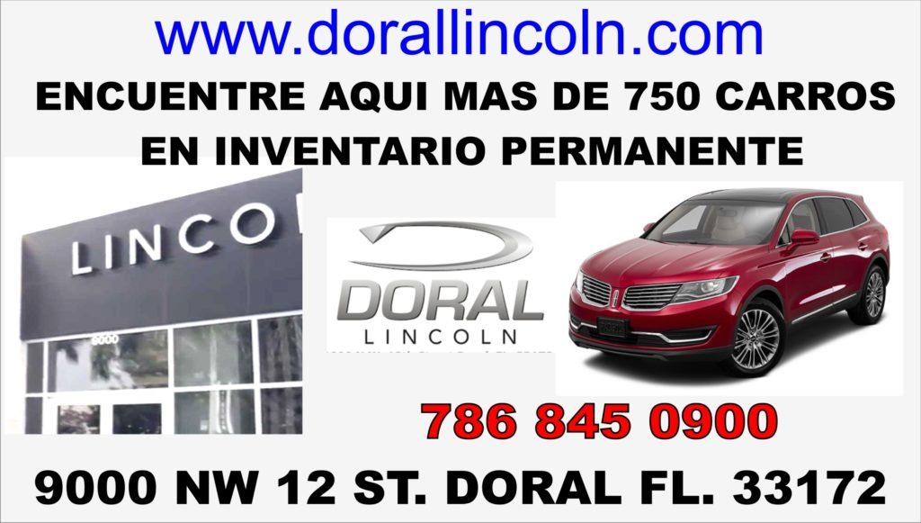DORAL LINCOLN NUEVO ENERO