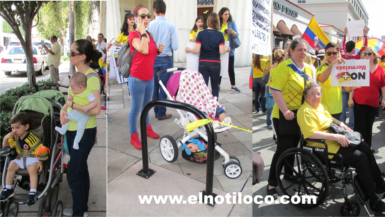 Miami marcha por la paz Colombia