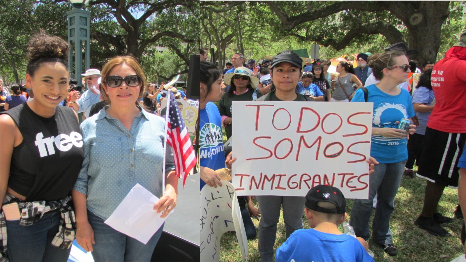 inmigracion protesta