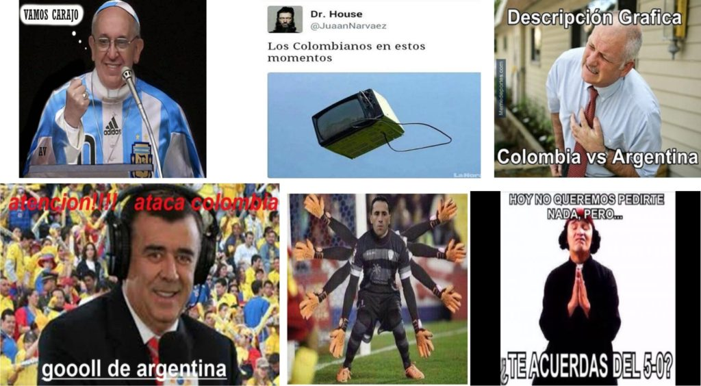memes 2 argentina colombia
